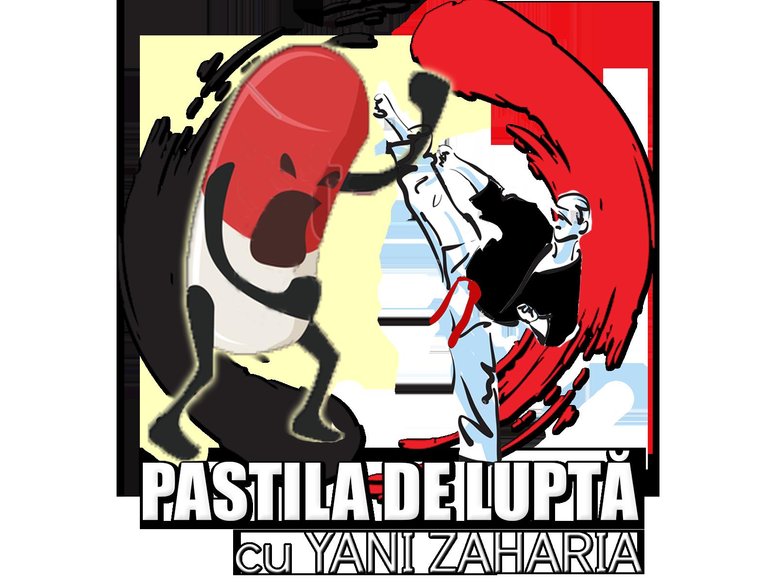 logo Yani Zaharia PASTILA DE LUPTA