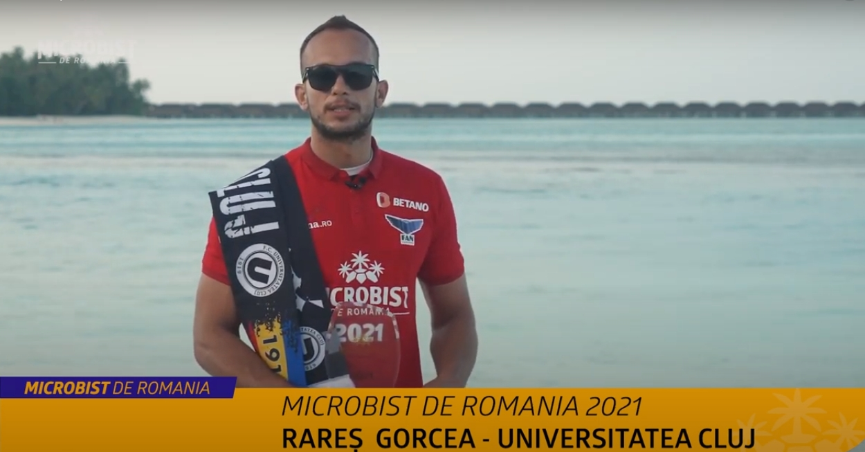 Rares Gorcea, Microbist de Romania 2021