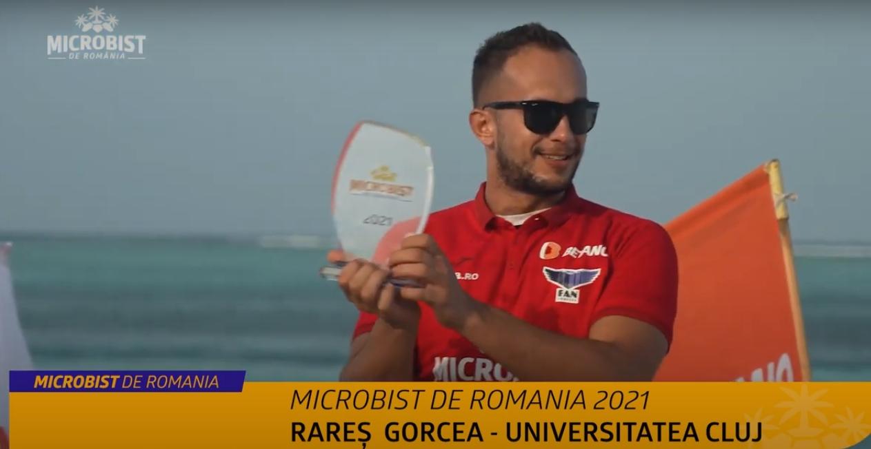 Rares Gorcea, castigator Microbist de Romania 2021