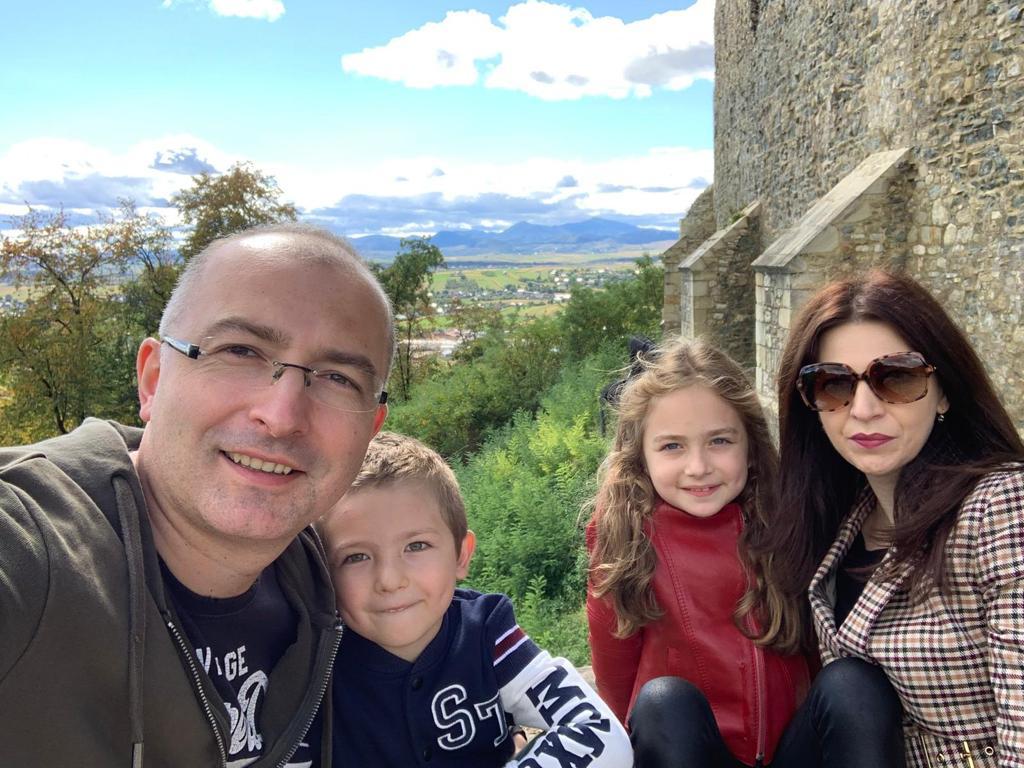 Vlad Arhire si familia