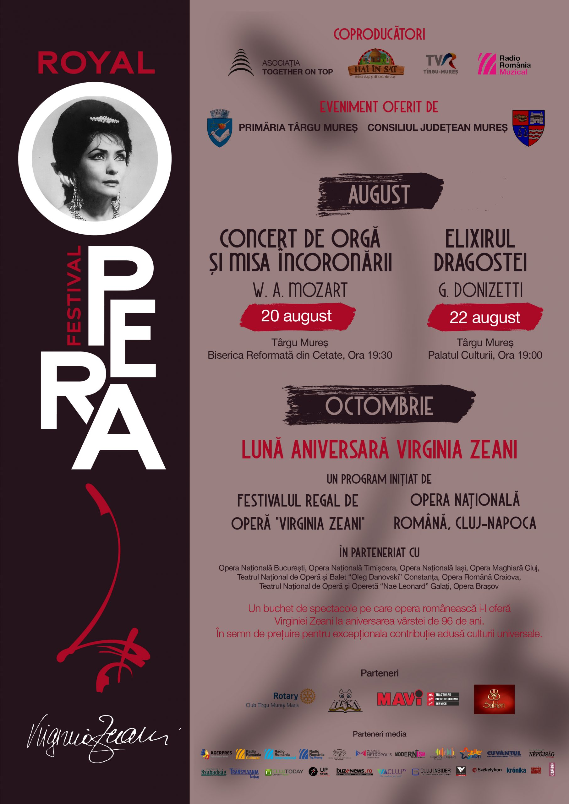 Royal Opera Festival Program