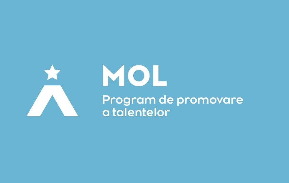 Logo – Program MOL de promovare a talentelor